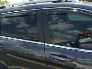 BMW X1 IN-CHANNEL RAIN GUARDS WIND DEFLECTORS 2010-2015 (FULL SET)