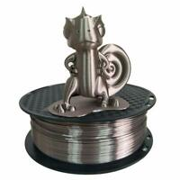 Silk Rose Gold PLA 3D Printer Filament 1.75mm 1KG 2.2LBS Spool Silky Shiny Brown
