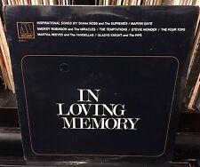 sealed IN LOVING MEMORY Four Tops MARVIN GAYE Stevie Wonder TEMPTATIONS Gospel