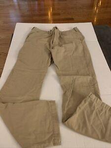 Hollister Mens Khaki Pants Size 34X34