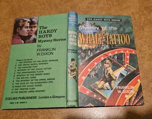 THE HARDY BOYS SERIES Franklin W Dixon THE MYSTERY OF THE WHALE TATTOO #4 1971