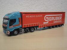 """AWM - Iveco HiWay Meusburger Vol.SZ """"Gruber Logistics"""" (A) - Nr. 9172.81 - 1:87"""