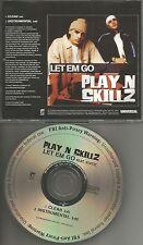 PLAY N SKILLZ Let Em Go CLEAN & INSTRUMENTAL PROMO DJ CD single Beastie Boys trk