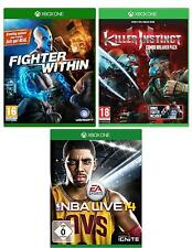 Xbox One Game Pack | NBA Live 14 | Fighter Within | Killer Instinct | nuevo & OVP