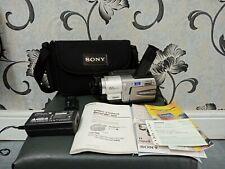 Retro Sony Handycam Vision Hi8 cámara de vídeo Grabadora-CCD-TRV49E PAL