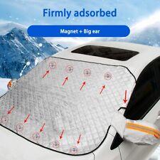 Car Windshield Cover Tarp Winter Ice Scraper Frost Dust Guard Sunshade Protector