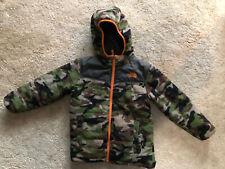 North Face Camo Reversible Jacket Boys Youth Small