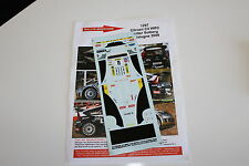DECALS 1/43 CITROEN C4 WRC PETTER SOLBERG RALLYE ESPAGNE CATALOGNE 2009 RALLY