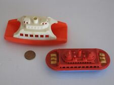 Vintage Plastic Auto Ferry Ships; Renwal #140, Automobile Ferry & Unknown Ferry