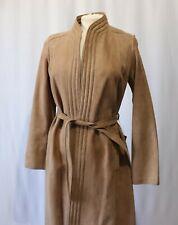 Vintage Suede Leather Coat Nwt Madrid Spain