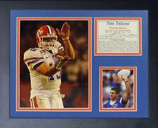 Legends Never Die Tim Tebow - Gators Chomp Framed Memorabilia