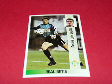 PEDRO LUIS JARO REAL BETIS PANINI LIGA 96-97 ESPANA 1996-1997 FOOTBALL