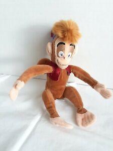 """Disney Store Plush Abu Monkey 7"""" Aladdin Bean Bag Toy Doll Apu"""