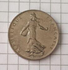 1 Franc 1960 • Republique Francaise • Liberte Egalite Fraternite • Münze / Coin