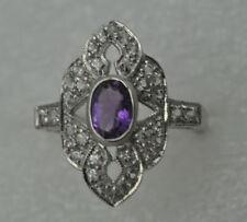 Anelli di lusso ametista , Misura anello 16