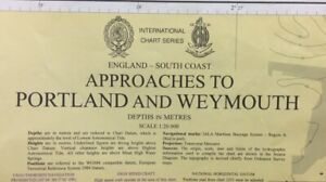 ADMIRALTY SEA CHART. No. 2255. APPROACHES to PORTLAND and WEYMOUTH. 1973