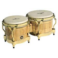 Lp Latin Percussion Lp811002 Matador Bongo legno Naturale Hardware M201-aw or