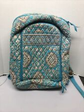 Vera Bradley  Backpack Large Carry All Totally Turq Turquoise Retired Rare!