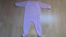 ஐ Winnie Pooh Nicki Schlafanzug Gr. 80 rosa mit durchgehender Knopfleiste ஐ