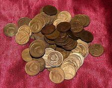 100 Soviet Union Russian 1 Kopeks 1/100 Ruble Coins Random Years Wholesale Lot
