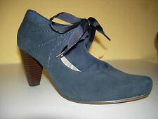CLARKS Soft Damen Schuhe Pumps Wildleder Blau Gr.35(UK3)  Neuw