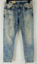 NWT $125 Denim and Supply Ralph Lauren Skinny Boyfriend Distressed Jeans Size 26