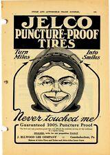 1911 J. Ellwood Lee Co. Ad: Jelco Tires - Conshohocken, Pennsylvania