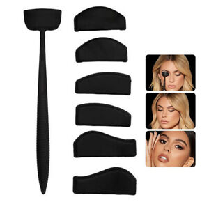 6 in 1 Silicone Crease shapes Eyeshadow Stamper Crease Line Kit Easy to Use Eyes