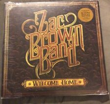 Zac Brown Band LP Welcome Home + Download (2017, Elektra, US) Vinyl Sealed New