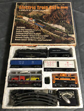 Vintage Marx Union Pacific Electric Train Set w/ 666 Locomotive - Original Box