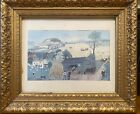 Grandma moses 'In Harvest Time' Print picture in beautiful frame