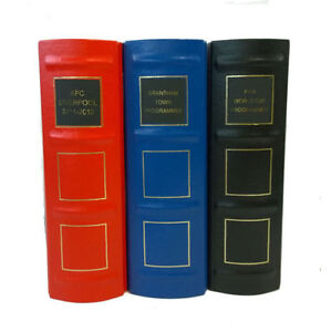 5 NEW Football programme Slipcases / Storage