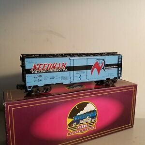 MTH 20-9401L Needham Packing Co. Refrigerator Car<++++>BRAND NEW<++++>OB<++++>