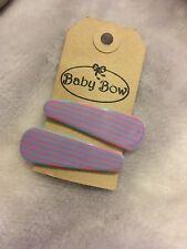 Blue/pink Childrens Hair Slide Set