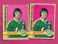 1972-73 TOPPS / OPC  SEALS IVAN BOLDIREV ROOKIE  CARD (INV# C1662)