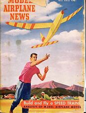 Model Airplane News Magazine June 1949 Speed Trainers ACC 040517nonjhe