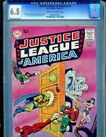 Justice League of America #2 DC Comics 1961 CGC Graded 6.5