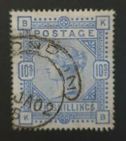 STAMPS-GREAT BRITAIN. 1883. 10 Ultramarine. SG: 183. Fine Used