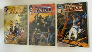 Avatar set from #1-3 DC 3 different books 4.0 VG (1991) War of the Gods