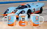 Gulf 917k Steve McQueen Le Mans 24 Hour Race Car Mug  - Clean Version