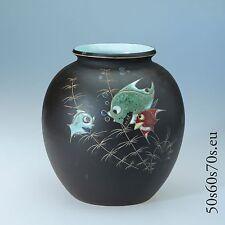 Keramik Vase Arno Kiechle Modellnummer 501 H=18 cm 50er Jahre/50s - WGP #290