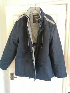 Atlas For Men Quality & Comfort Men's Jacket Inc hood Size Uk XXXL