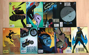 DC Comics BATGIRL YEAR ONE 2003 #1-9 Complete, Beatty, Dixon, Martin VF/NM