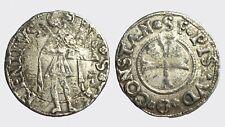 PESARO - COSTANZO I SFORZA 1473-1483 -AG/ 1/3 GROSSO  FALSO D'EPOCA  RARA