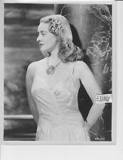 Bette Davis busty sepiatoned VINTAGE Photo