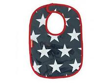 Penny Scallan Baby Bib Navy Blue White Red