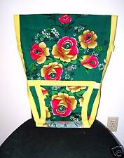 New portable baby chair/high chair harness green floral