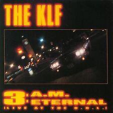 """12"""" - THE KLF - 3 A.M. ETERNAL (TECHNO) SPANISH EDIT.1991   LISTEN"""