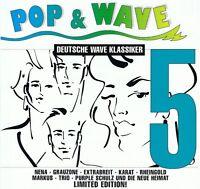 Pop & Wave 5 - 2 CDs NEU - NDW - Grauzone Rheingold Der Plan Sternenhagel Jawoll