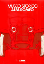 LIBRO BOOK LIVRE ARESE MUSEO STORICO ALFA ROMEO 24 HOURS LE MANS F1 RACING CAR